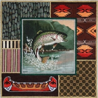 959 Trout Collage