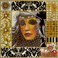 999 Carnivale Mask Collage