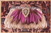 EB-2a Pink Feather Evening Bag