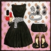 EN-6a Little Black Dress Ensemble