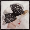 PH-2b Black Lace Hat