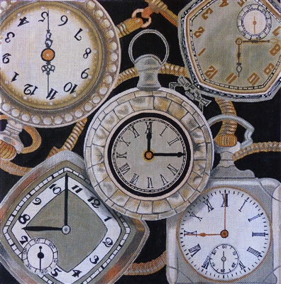 PW-1 Silver Pocketwatch Collage