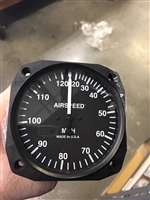 3-1/8 UMA Airspeed Indicator 20-120 mph Rangemarked for SeaRey LSX