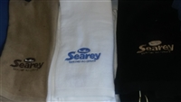 GOLF TOWEL, w/EMBROIDERED SEAREY LOGO