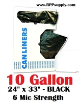 10 Gallon Garbage Bags Can Liners 10 GAL Trash Bags