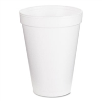 Dart 12 Ounce Foam Cups Model 12J12