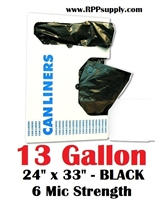 13 Gallon Garbage Bags Can Liners 13 GAL Trash Bags