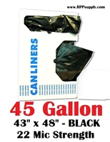 45 Gallon Garbage Bags Can Liners 45 GAL Trash Bags