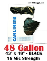 48 Gallon Garbage Bags Can Liners 48 GAL Trash Bags