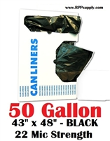 50 Gallon Garbage Bags Can Liners 50 GAL Trash Bags