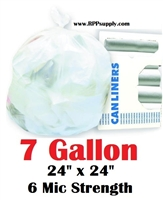 7 Gallon Garbage Bags Can Liners 7 GAL Trash Bags