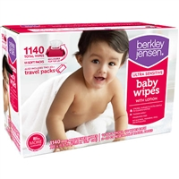 Berkley & Jensen Brand Unscented Fragrance Free Ultra Sensitive Baby Wipes