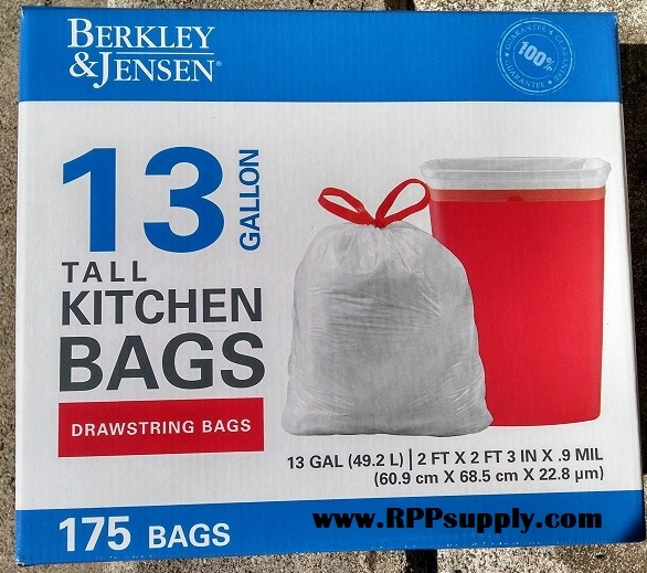 100 tall kitchen trash bags buy glad tall kitchen drawstrin