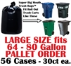 Super Big Mouth Trash Bags Large Industrial Bulk Order