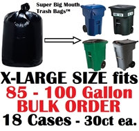 Super Big Mouth Trash Bags X-Large Bulk Order