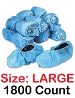 Disposable Shoe Covers Booties for Daycare, Hospital, Medical, Anti Skid Non Skid 1800 Count