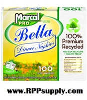Marcal Bella Premium 2-Ply Dinner Napkins 30 x 100ct - 3000ct