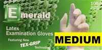 Disposable Powder Free Latex Medical Exam Gloves 10 x 100ct MEDIUM