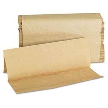 Economy Natural Tan Brown Multifold Paper Towels RPPsupply House Brand 4000ct