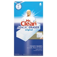PGC 82027CT Mr. Clean® Magic Erasers® All-Purpose Cleaning Erasers - 6 x 4ct