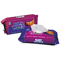 Royal Brand Baby Wipes Model RPBWUR-80 Unscented 12 Refill Packs