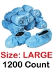 Realtor Open House & Estate Sale Shoe Covers Booties w/ Anti-Skid Protection - BULK 1200 Count LARGE
