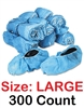 Realtor Open House & Estate Sale Shoe Covers Booties w/ Anti-Skid Protection - 300 Count LARGE