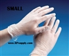 Disposable Powder Free Vinyl Daycare Gloves 10 x 100ct SMALL