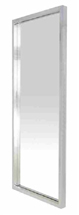Glam Polished Stainless Steel Mirror by Nuevo Living