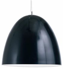 Dome Light Large Black by Nuevo Living