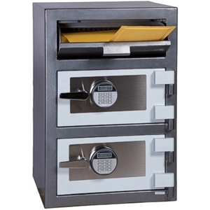 FDD-3020EE Hollon Dual Compartment [Front Loading] Drop Safe