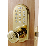 QKK-01  RF Remote Control + Keypad Door Lock