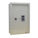 WES2113-B Electronic Wall Safe