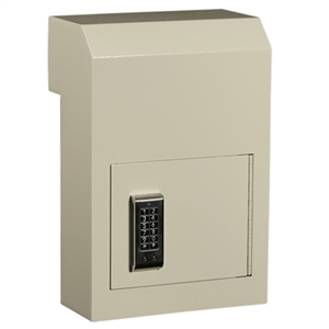WSS-159E  Protex Through-The-Door Drop Box w/ Electronic Lock