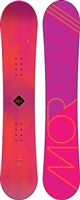 Morrow Women's Sky Snowboard- Pink/ Orange -153