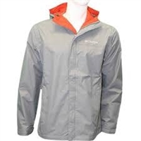 Columbia Men's Watertight II Rain Jacket- Grey/ Ash