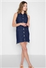 Sleeveless Denim Dress from 7 for all mankind