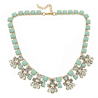 Courtney Necklace Mint