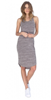 Cement Mix Stride Dress from Gentle Fawn