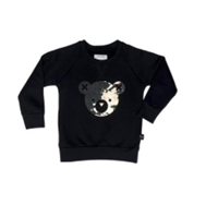 Splash Bear Fleece Sweatshirt from Huxbaby