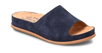 Tutsi 2.0 in navy suede slip on from Kork-Ease - sandals - free shipping