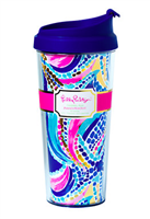 Lilly Pulitzer Thermal Mug in Multi Ocean Jewels