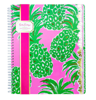 "Lilly Pulitzer Notebook ""Pineapple Engineered"""