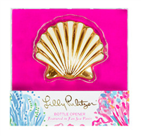 Lilly Pulitzer Shell Bottle Opener