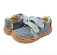 Hayes Sneaker in Dusty Blue from Livie and Luca