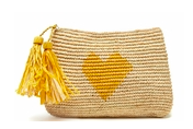 Carrie Clutch from Mar Y Sol in Sunflower