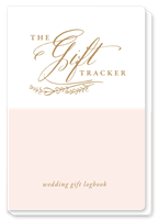 Wedding Gift Logbook from Rosanne Beck