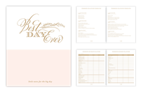 Wedding Planner Book from Rosanne Beck