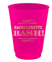 Bachelorette BASH! Frosted Flex Cups set of 8