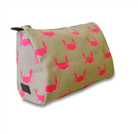 Crab Cosmetic Pouch from Sloan Ranger